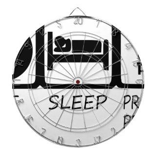 EAT SLEEP39 DARTBOARD