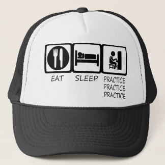 EAT SLEEP39 TRUCKER HAT