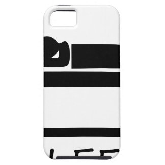EAT SLEEP3 iPhone 5 COVER
