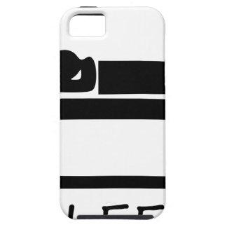 EAT SLEEP3 TOUGH iPhone 5 CASE