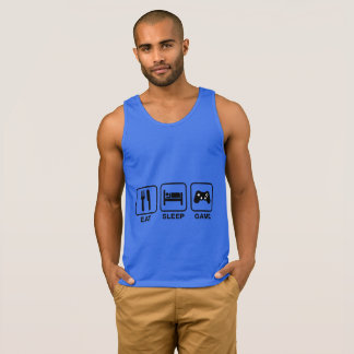 Eat,Sleep and Game funny Ultra Cotton Tank Top