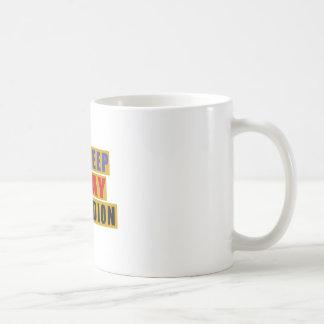 Eat Sleep And Play ACCORDION Coffee Mug