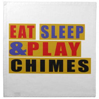 Eat Sleep And Play CHIMES Napkin