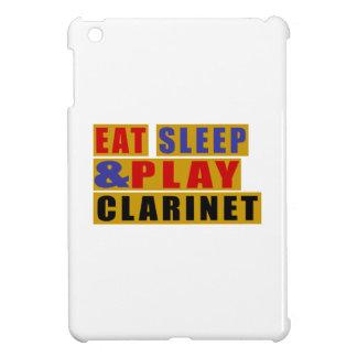 Eat Sleep And Play CLARINET iPad Mini Cover