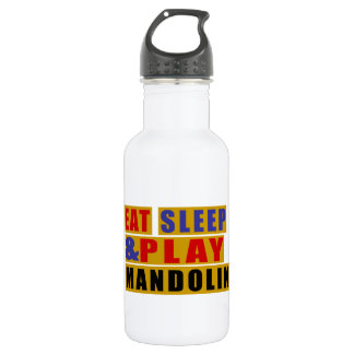 Eat Sleep And Play MANDOLIN 532 Ml Water Bottle