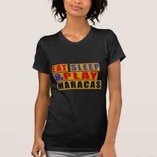 Eat Sleep And Play MARACAS T-Shirt