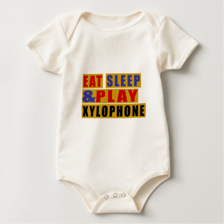 Eat Sleep And Play XYLOPHONE Baby Bodysuit