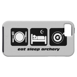 eat sleep archery tough iPhone 5 case