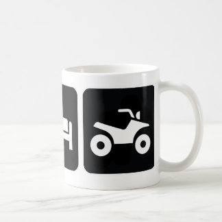 Eat Sleep ATV Coffee Mug