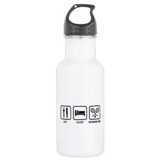 Eat Sleep Badminton 532 Ml Water Bottle