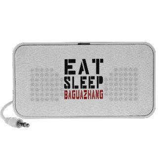 Eat Sleep Baguazhang Laptop Speakers