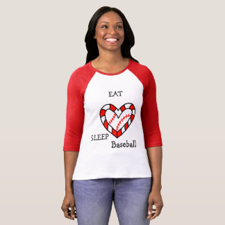 Eat sleep base ball shirt