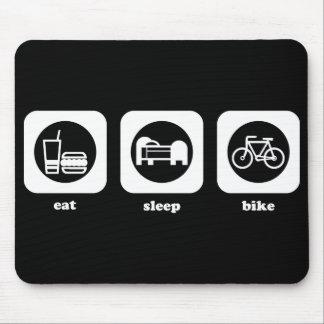 Eat. Sleep. Bike. Mousepad