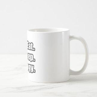 Eat. Sleep. Biology. Coffee Mug