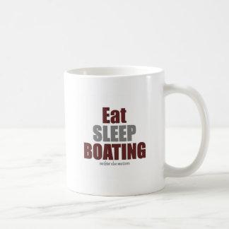 Eat Sleep boating Coffee Mug