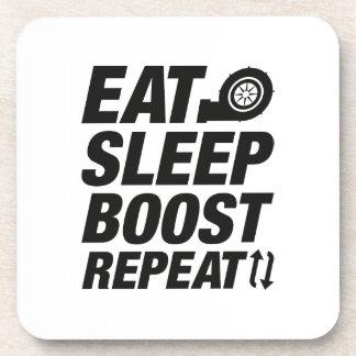 Eat Sleep Boost Repeat Beverage Coaster