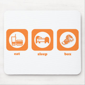 Eat. Sleep. Box. Mousepad