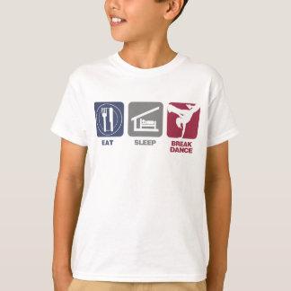 Eat Sleep Breakdance - Girl T-Shirt
