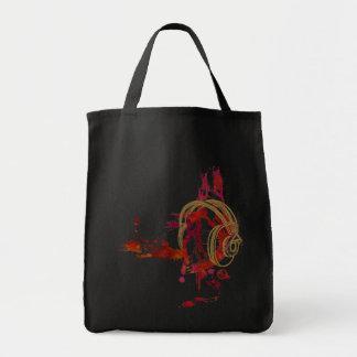 Eat, Sleep, Breathe ... MUSIC Grocery Tote Bag