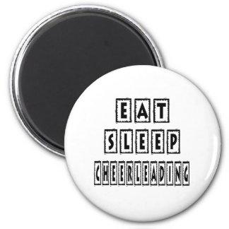 Eat Sleep Cheerleading Magnet