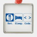 eat sleep code (html)