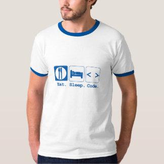 eat sleep code (html) T-Shirt