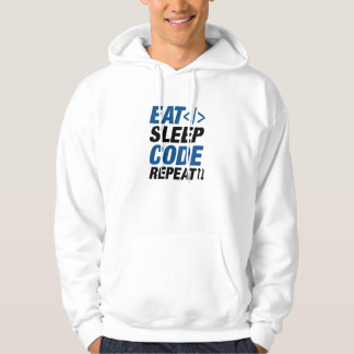 Eat Sleep Code Repeat Hoodie