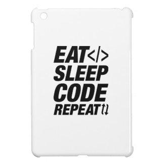 Eat Sleep Code Repeat iPad Mini Case