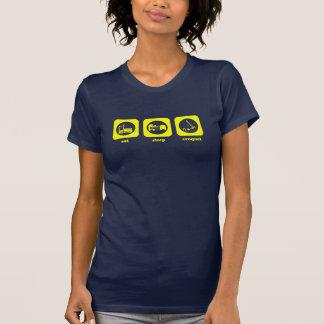 Eat. Sleep. Croquet. T-shirt