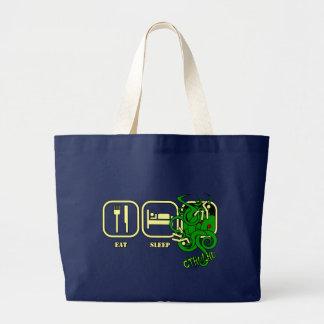 Eat - Sleep - Cthulhu Tote/Shopping Bag