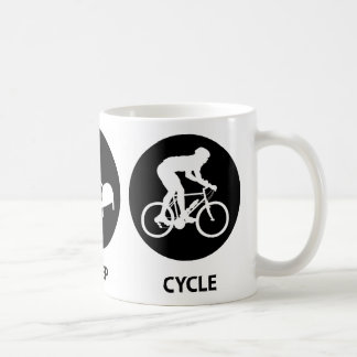 Eat Sleep Cycle Coffee Mug