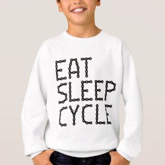 EAT-SLEEP-CYCLE SWEATSHIRT