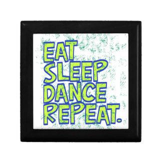eat sleep dance repeat gift box