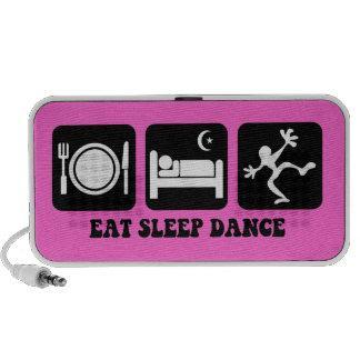 eat sleep dance speaker