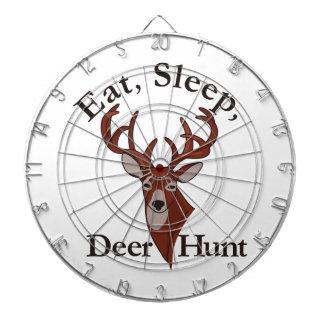 Eat, Sleep & Deer Hunt! Dartboard