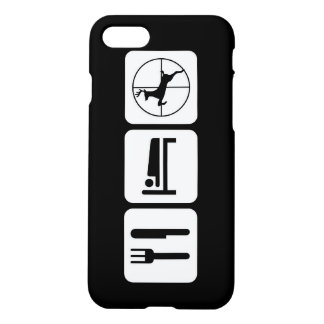 Eat Sleep Deer Hunt Funny Hunting Logo iPhone 7 Case