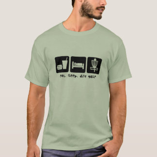 Eat Sleep Disc Golf T-Shirt