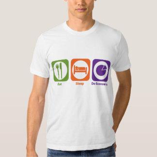 Eat Sleep Do Economics Shirt