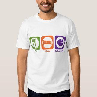 Eat Sleep Do Economics Shirts