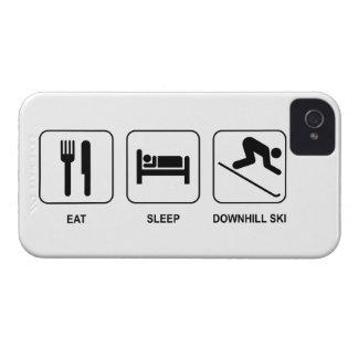 Eat Sleep Downhill Ski Case-Mate iPhone 4 Cases