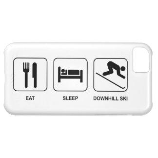 Eat Sleep Downhill Ski iPhone 5C Case