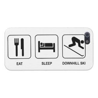 Eat Sleep Downhill Ski iPhone 5 Cover