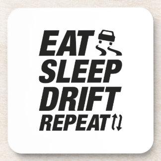 Eat Sleep Drift Repeat Coaster