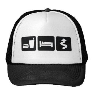 Eat Sleep Drive Hard Hat