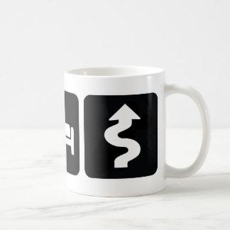 Eat Sleep Drive Hard Coffee Mugs