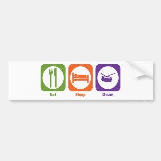 Eat Sleep Drum Bumper Stickers