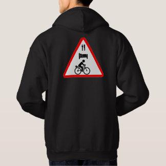 """Eat. Sleep. eBike"" cycling hoodies for men"
