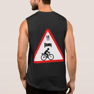 """Eat. Sleep. eBike"" cycling tank tops for men"