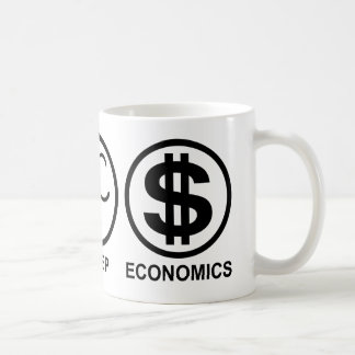 Eat Sleep Economics Coffee Mug