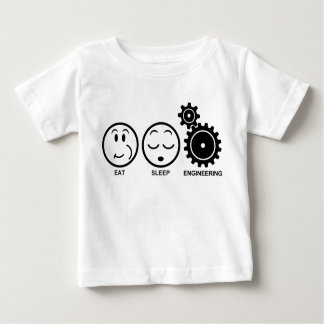 Eat Sleep Engineering Baby T-Shirt